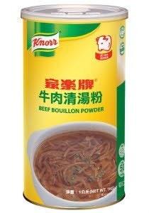 家樂牌牛肉清湯粉 -